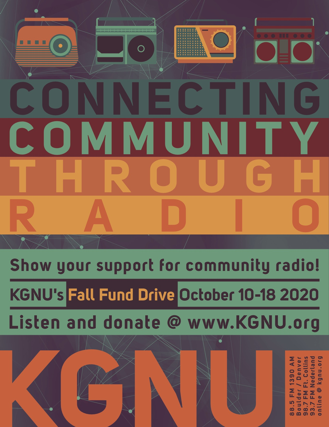 KGNU Fund Drive Music Specials - Fall 2020