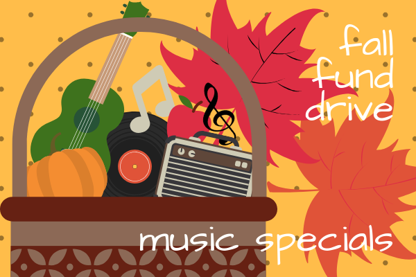 KGNU Fund Drive Music Specials - Fall 2018