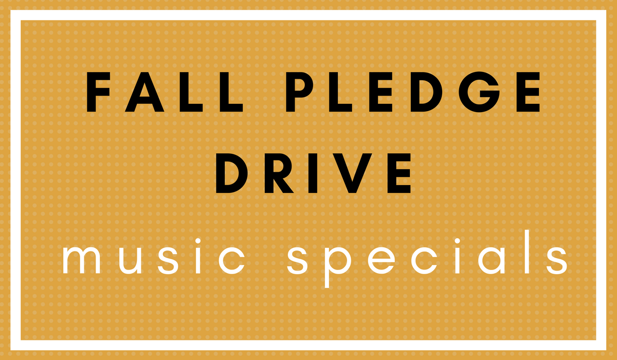 KGNU Pledge Drive Music Specials - Fall 2017