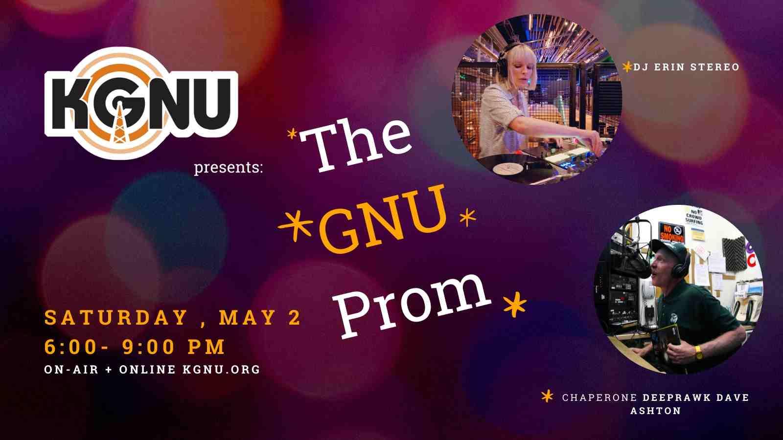 The GNU Prom 2020