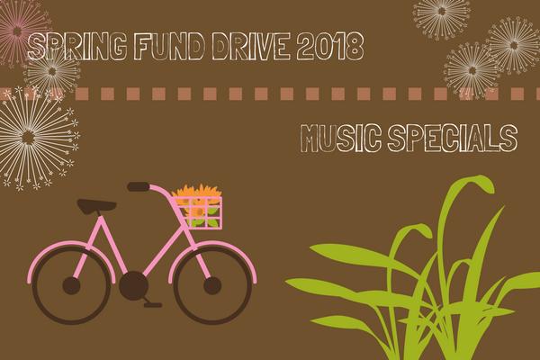 KGNU Fund Drive Music Specials - Spring 2018