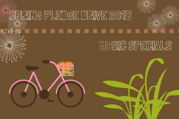 KGNU Pledge Drive Music Specials - Spring 2018