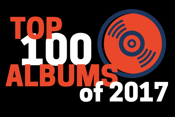 Top 100 Albums of 2017