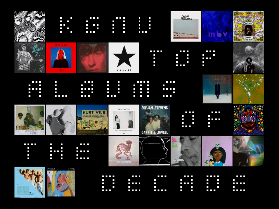 Top Albums of the Decade