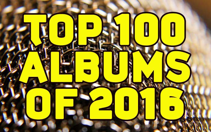 Top 100 Albums of 2016