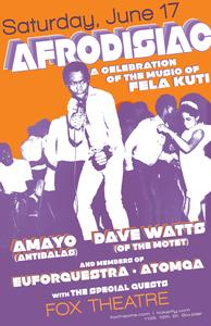 AFRODISIAC - A CELEBRATION OF THE MUSIC OF FELA KUTI!