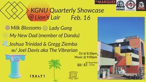 KGNU & Lions Lair Quarterly Showcase February Edition!