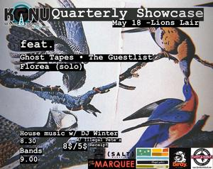 KGNU + Lion's Lair Quarterly Showcase May Edition!