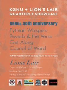 KGNU + Lion's Lair Quarterly Showcase 40th Anniversary Edition!