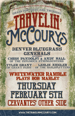 The Travelin' McCourys w/ the Denver Bluegrass Generals