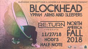 KGNU Presents: RE:TURN Tuesdays Feat. Blockhead with Yppah & Arms and Sleepers