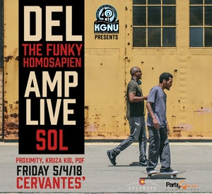Del The Funky Homosapien and Amp Live