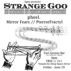 Strange Goo - KGNU Presents An Evening of Perplexing Rhythm v2
