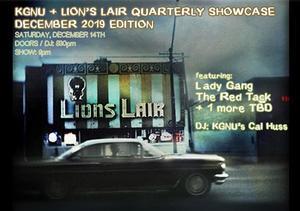 KGNU & Lions Lair Quarterly Showcase December Edition!